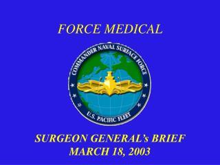 FORCE MEDICAL