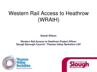 Western Rail Access to Heathrow (WRAtH)