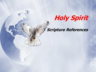 Holy Spirit Scripture References