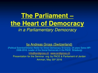 Parliament s