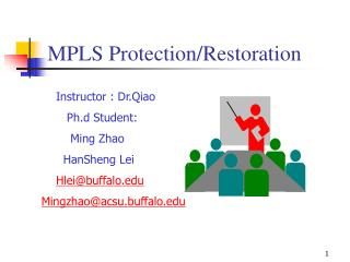 MPLS Protection/Restoration