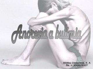 Anorexia a bulímia