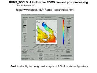 ROMS_TOOLS: A toolbox for ROMS pre- and post-processing