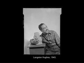 Langston Hughes, 1943.