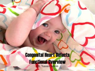 Congenital Heart Defects Functional Overview