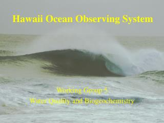 Hawaii Ocean Observing System