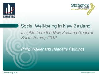 Social Well-being in New Zealand