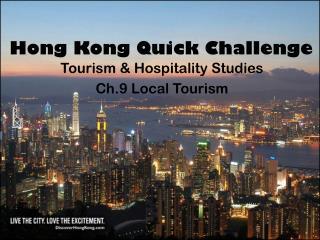 Hong Kong Quick Challenge