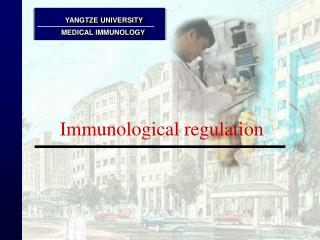 Immunological regulation