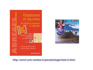 umvf.univ-nantes.fr/parasitologie/liste-2.html