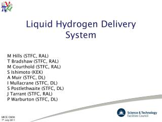 Liquid Hydrogen Delivery System