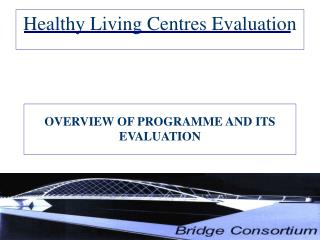Healthy Living Centres Evaluation