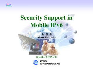 Security Support in Mobile IPv6