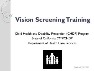 Vision Screening Training