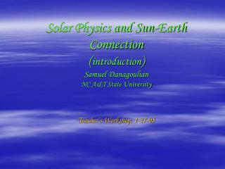 Solar Data