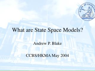 What are State Space Models?