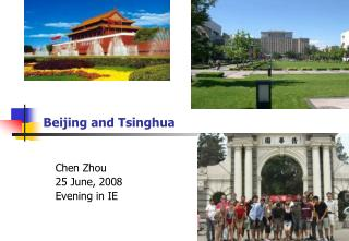 Beijing and Tsinghua