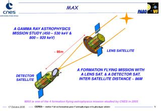 A GAMMA RAY ASTROPHYSICS MISSION STUDY (450 – 530 keV & 800 – 920 keV)