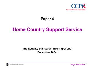 Paper 4 Home Country Support Service