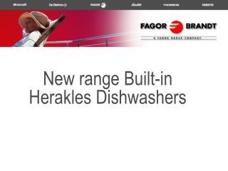 New range Built-in Herakles Dishwashers