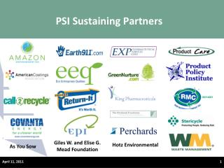 PSI Sustaining Partners