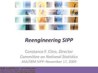 Reengineering SIPP