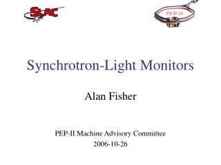 Synchrotron-Light Monitors