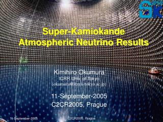 Super-Kamiokande Atmospheric Neutrino Results
