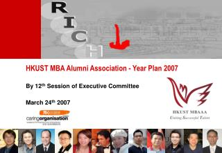 HKUST MBA Alumni Association - Year Plan 2007