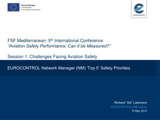 EUROCONTROL Network Manager (NM) 'Top 5' Safety Priorities