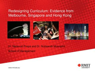 Redesigning Curriculum: Evidence from Melbourne, Singapore and Hong Kong