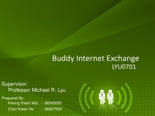 Buddy Internet Exchange