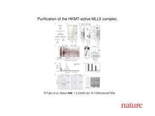 R Fujiki  et al. Nature 458 , 1-5 (2009) doi:10.1038/nature07954
