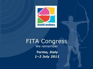 Torino, Italy 1–2 July 2011