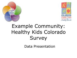 Example Community: Healthy Kids Colorado Survey