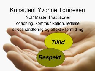 Konsulent Yvonne Tønnesen