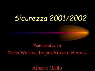 Sicurezza 2001/2002
