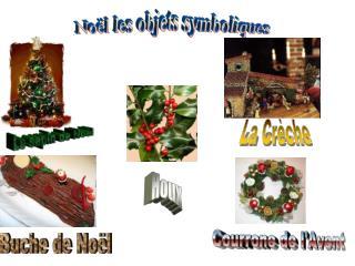 Noël les objets symboliques