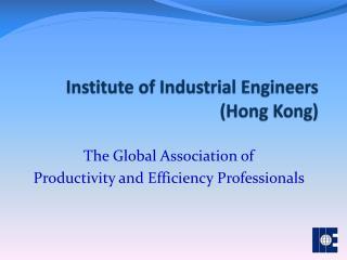 Institute of Industrial Engineers (Hong Kong)