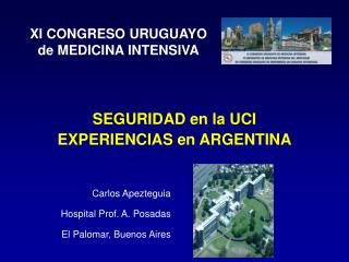 Carlos Apezteguia Hospital Prof. A. Posadas El Palomar, Buenos Aires