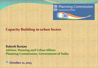 Capacity Building in urban Sector