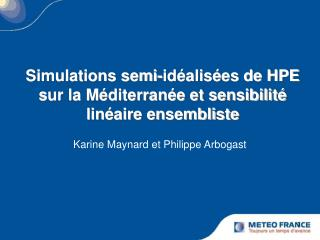 Karine Maynard et Philippe Arbogast