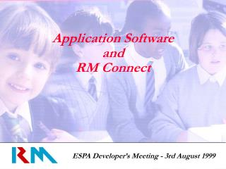 Application Software  and RM Connect