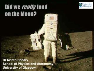 Did we  really   land  on the Moon?