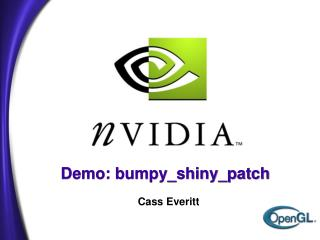 Demo: bumpy_shiny_patch