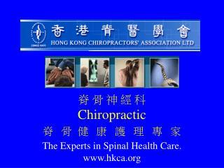 脊 骨 神 經 科 Chiropractic