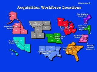 Acquisition Workforce Locations