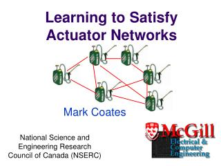Learning to Satisfy Actuator Networks