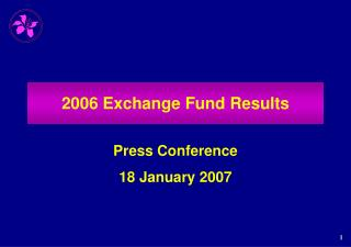 2006 Exchange Fund Results