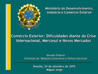 Senado Federal  Comissão de  Relações Exteriores e Defesa Nacional